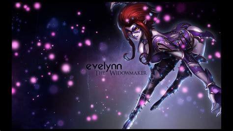 cz bf league  legends masquerade evelynn kills