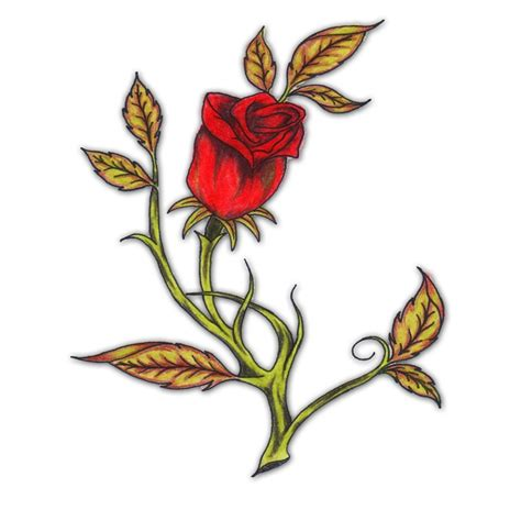 closed rose bud tattoos www pixshark com images