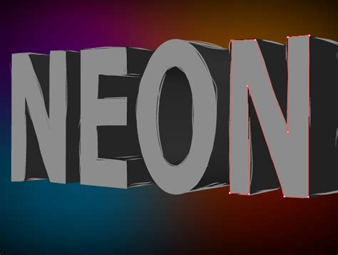 vector neon tutorial illustrator tutorial how to create a neon text effect