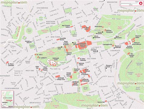 printable maps edinburgh city centre top edinburgh city map printable images for pinterest tattoos