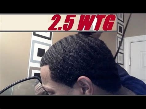 black haircut 2 guard how to cut number 2 5 guard wtg waves haircut yourself