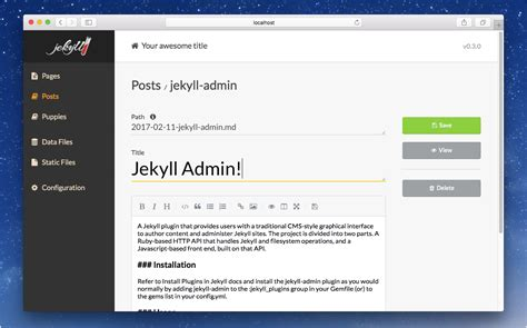 jekyll layout content jekyll simple blog aware static sites phire base