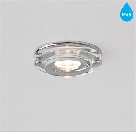 Astro Mint Led Round Ip65 Bathroom Downlight Polished Ip65 Bathroom Lights