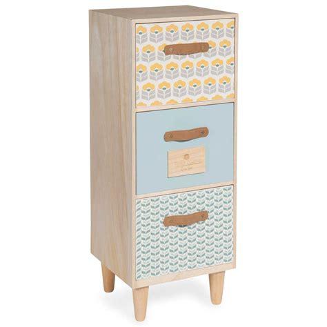 henriette small 3 drawer cabinet maisons du monde