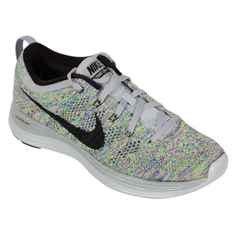 gray nike womens shoes nike flyknit lunar 1 s running shoe grey