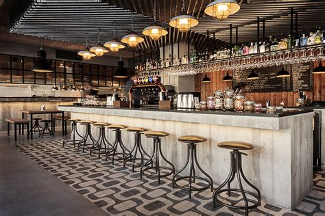Retro Style Home Decor Honorato An Inspiring Industrial Bar Design In Portugal