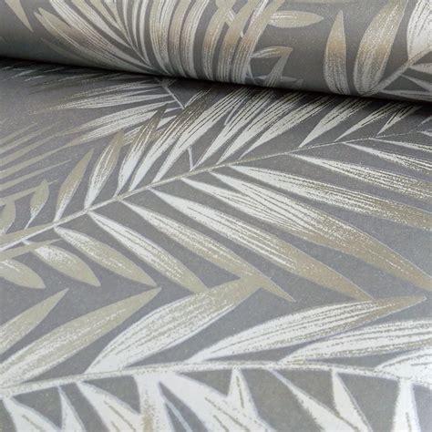 leaf pattern wallpaper uk arthouse ardita leaf pattern floral motif metallic