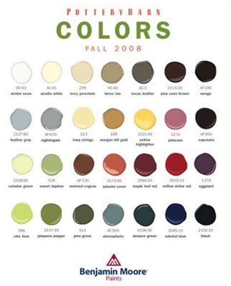 1000 ideas about pottery barn colors on