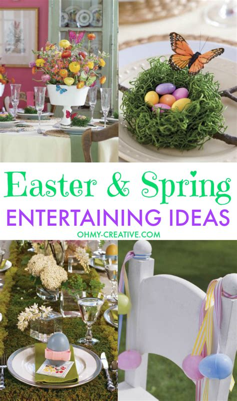 easter entertaining oh my creative