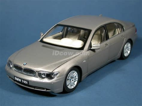 Diecast Bmw 745i 2004 bmw 745i diecast model car 1 18 scale die cast from kyosho gold