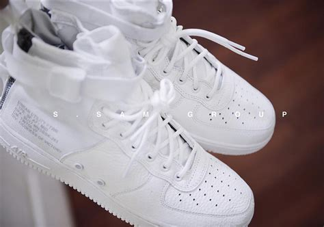 Sepatu Nike Air 1 Special Field Mid White Premium Quality new images of the nike special field air 1 mid white kicksonfire