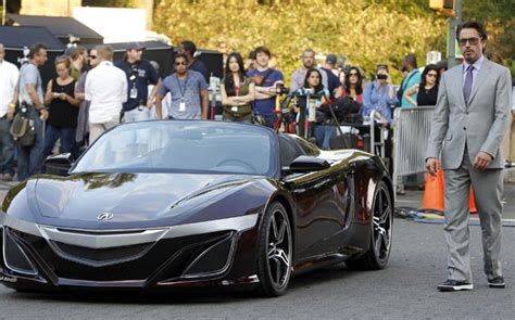 acura supercar avengers is tony stark s new acura a precursor to next nsx