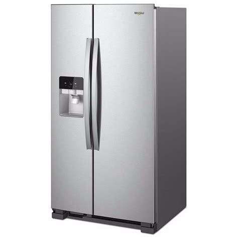 Water Dispenser In Refrigerator wrs325sdhzwhirlpool 36 quot 25 cu ft side by side
