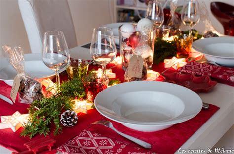 Decors De Table Pour Noel by Une D 233 Coration De Table Pour No 235 L Les Recettes De M 233 Lanie