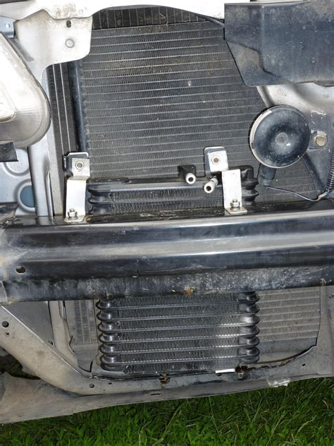 acura mdx transmission cooler transmission cooler built in the radiator honda tech