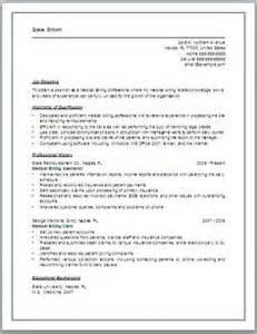 professional medical billing and coding resume 3 - Medical Billing And Coding Resume