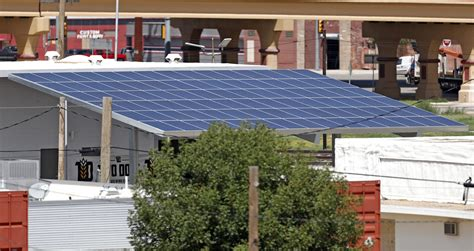 Solar Panels Lubbock - downtown brewery installs solar panel array hopes others