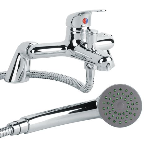 taps mixer bathroom murcia lever bath shower mixer tap