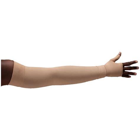 Compression Arm Sleeves lymphedivas bei chic compression arm sleeve and gauntlet
