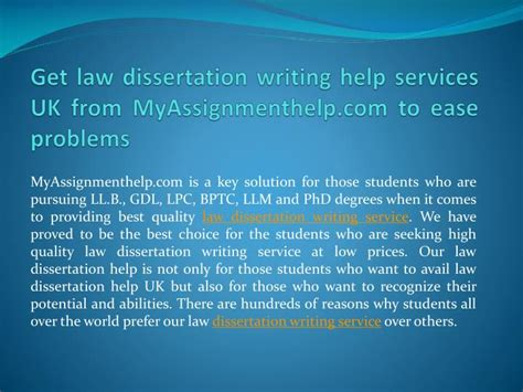 dissertation help services ppt get dissertation writing help services by uk