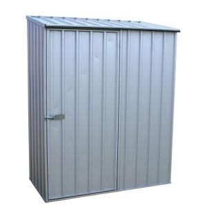 Tool Shed Home Depot by Absco 5 Ft X 3 Ft Spacesaver Zincalume Tool Shed