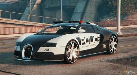 police bugatti bugatti veyron police for gta 5