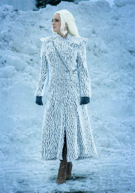 winter dragon queen costume  women