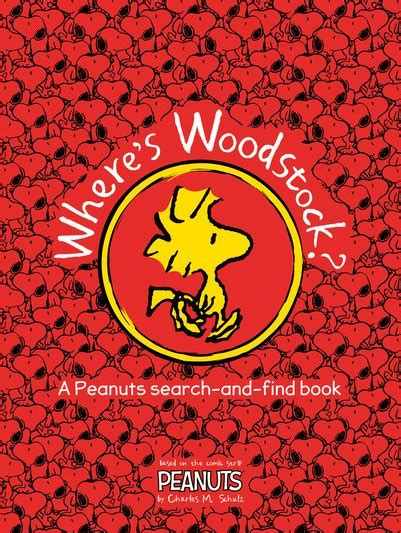 where s woodstock peanuts golden book where s woodstock a peanuts search and find book