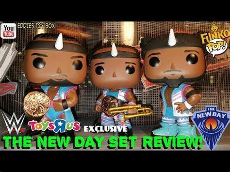 Funko Kofi Kingston 12360 the new day big e xavier woods and kofi kingston funko pop review toys r us exclusive