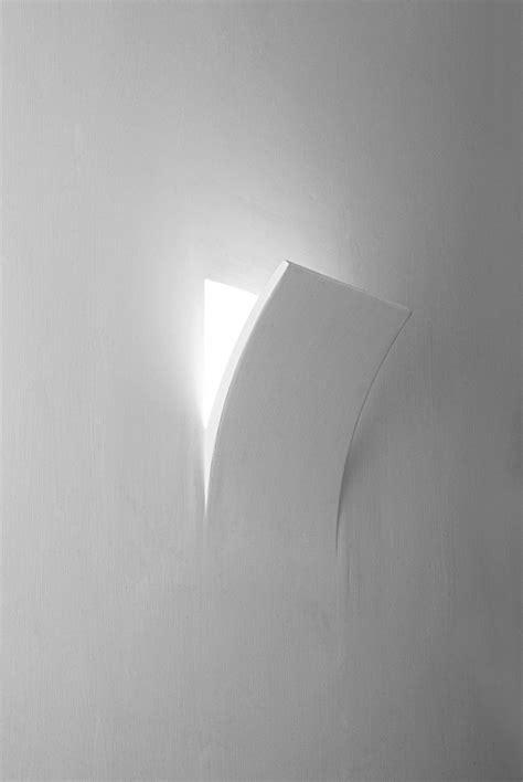 applique da parete in gesso applique 12 da parete ad incasso in gesso ceramico