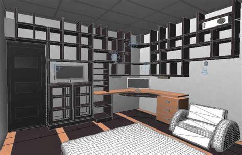habitacion 3d planos de habitacion 3d en dwg autocad vivienda