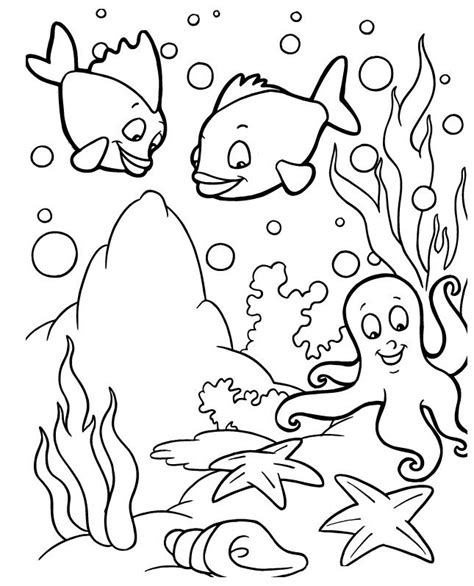 ocean background coloring page 1000 ideas about ocean coloring pages on pinterest