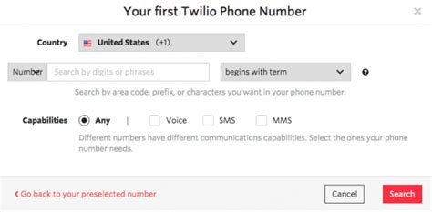 Twilio Phone Number Lookup Twilio Console Phone Numbers Getting Started
