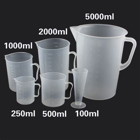 500ml to cups plastic measuring cup tools scale cup liquid measuring spoon 500ml 200ml 100ml in measuring cups