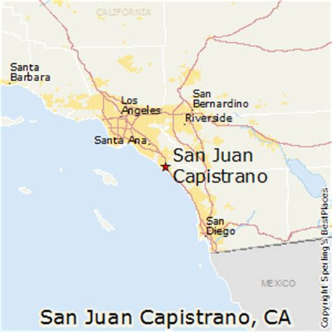 california map san juan capistrano best places to live in san juan capistrano california
