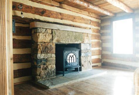 log cabin hidden  plain site handmade houses  noah bradley