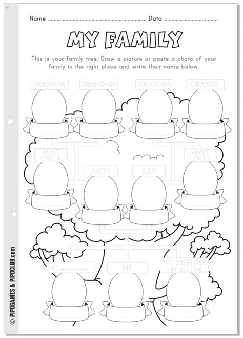 Family Tree Worksheets by Family Tree Worksheet Images