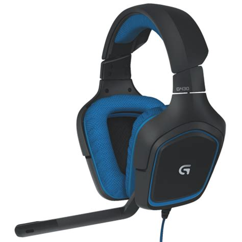 Headset Gaming Logitech G430 logitech surround sound gaming headset g430 gaming