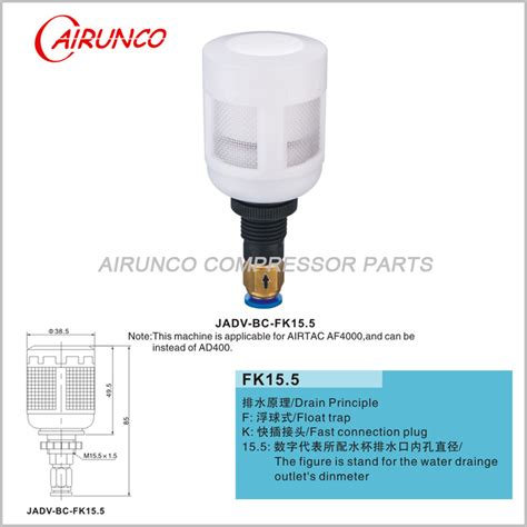 Unloader Valve Kit 2901029801 2901108401 unloader valve kit atlas copco air compressor