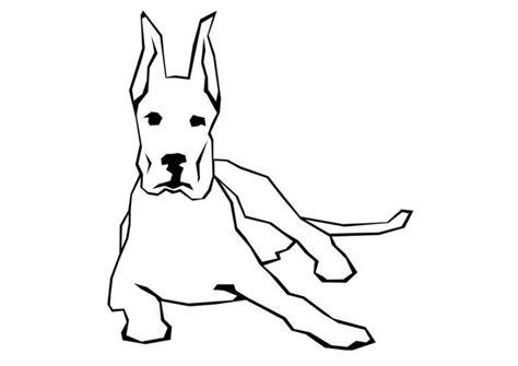 imagenes de animales grandes para colorear dibujos de perros para colorear e imprimir gratis
