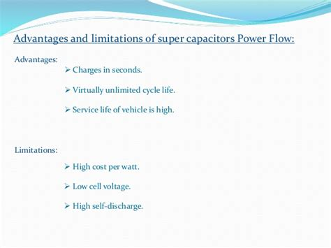 supercapacitors characterization for hybrid vehicle applications capacitors and battery power management for hybrid vehicle appl
