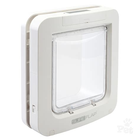 sure petcare microchip pet door white