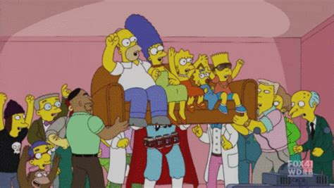 simpsons couch gag the simpsons images couch gag hooray wallpaper and