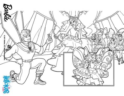 coloring pages barbie fairy secret zane and princess graciella coloring pages hellokids com
