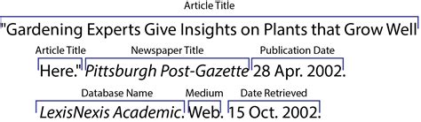 apa format newspaper article online how to write a good how to cite a newspaper article mla