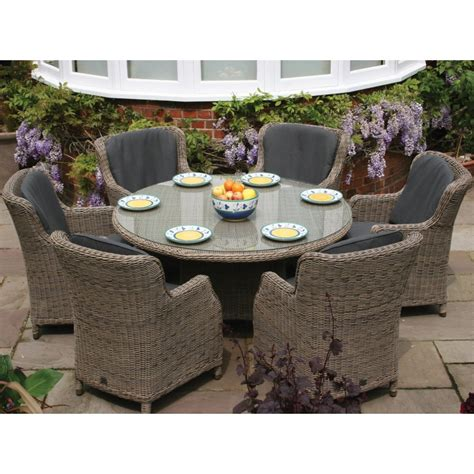 Pottery Barn Montego Outdoor Round Dining Table For 6 R4tb Cnxconsortium Org