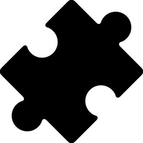 la pieza del fondo pieza del rompecabezas girada negro descargar iconos gratis