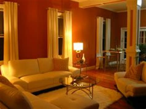 Burnt Orange And Brown Living Room by Burnt Orange Living Room High End Miami Flavor Walls