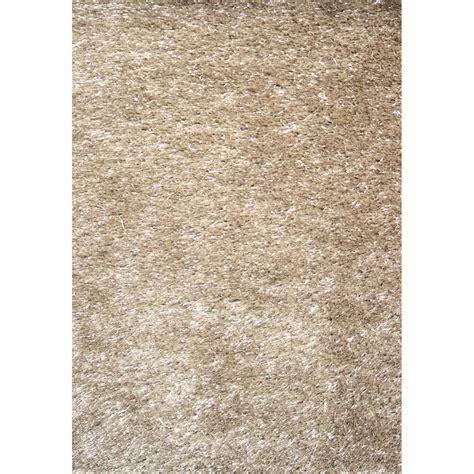 tapis shaggy zelia beige 170x120 cm leroy merlin