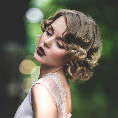 for great gatsby hair hairstyles women medium hair holiday hairstyle the great gatsby look for short long